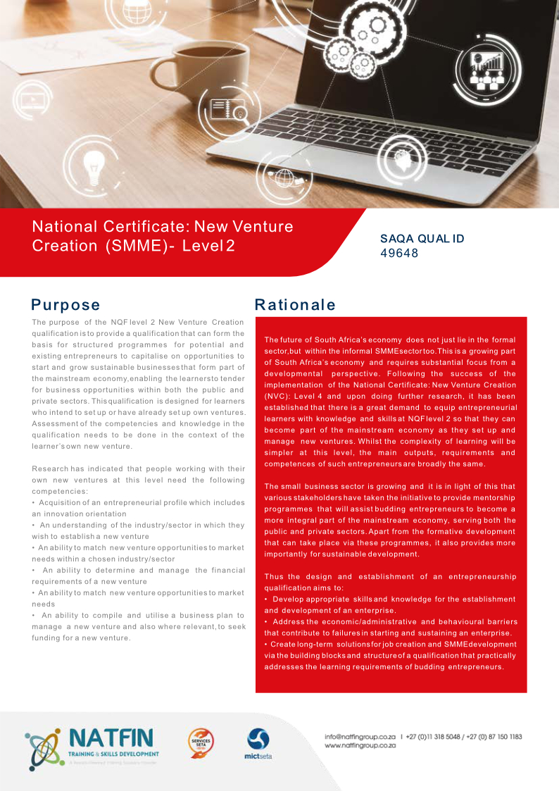 New-Venture-Creation-SMME-Level-2